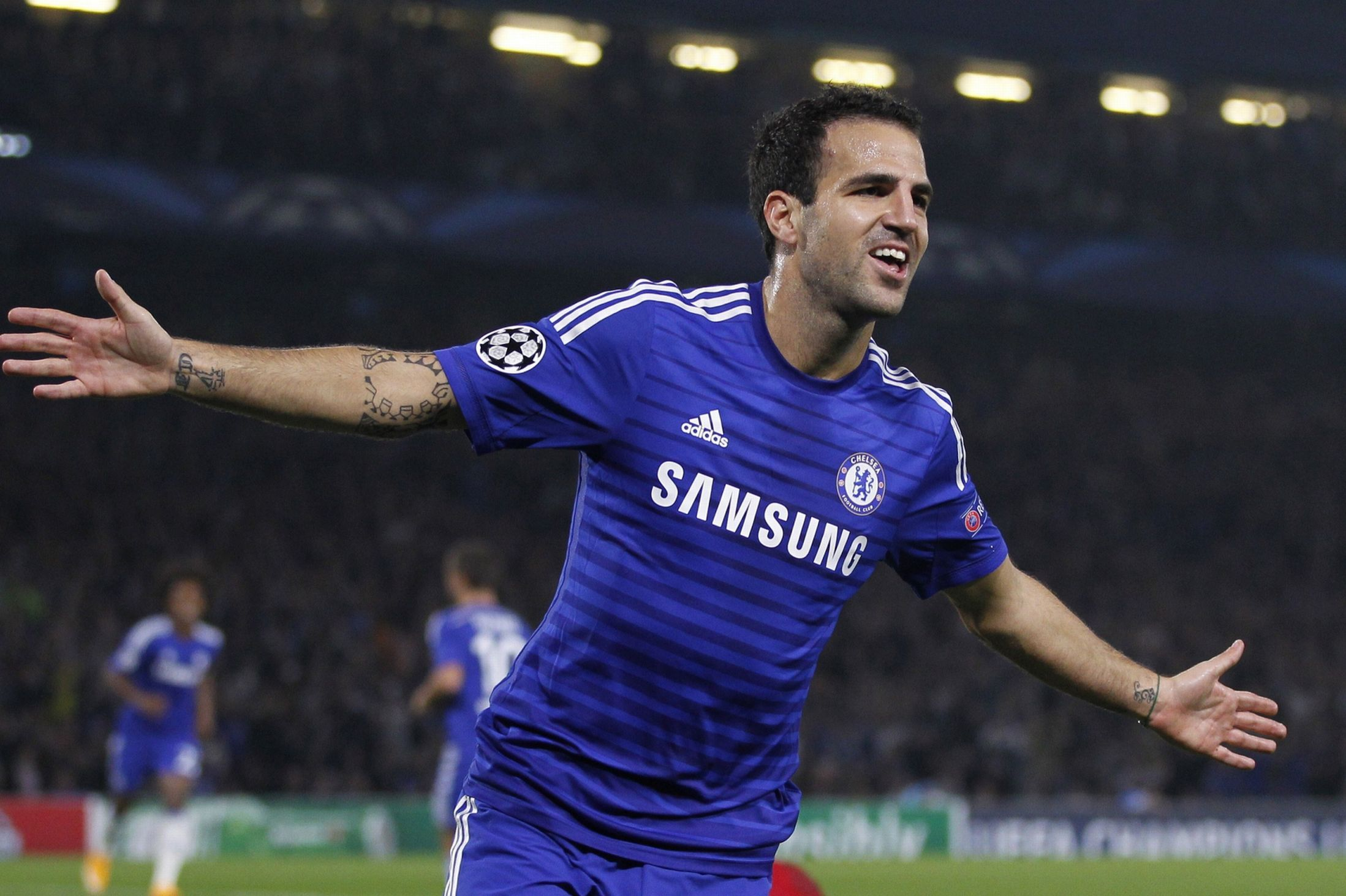 78f5b78ad Fabregas  evolution from Barcelona to Chelsea