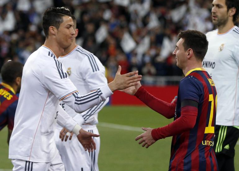 best forward in the world messi or ronaldo