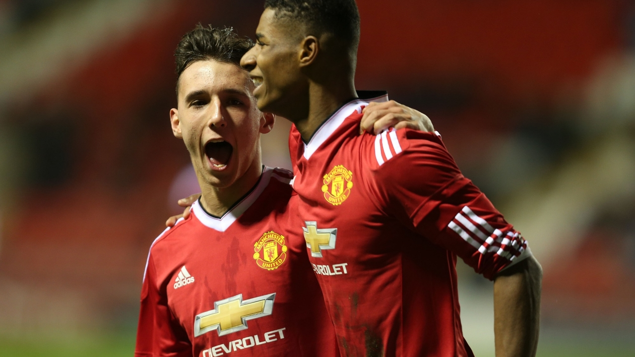 Man United best youth players 2016