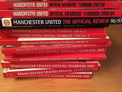 manchester united books