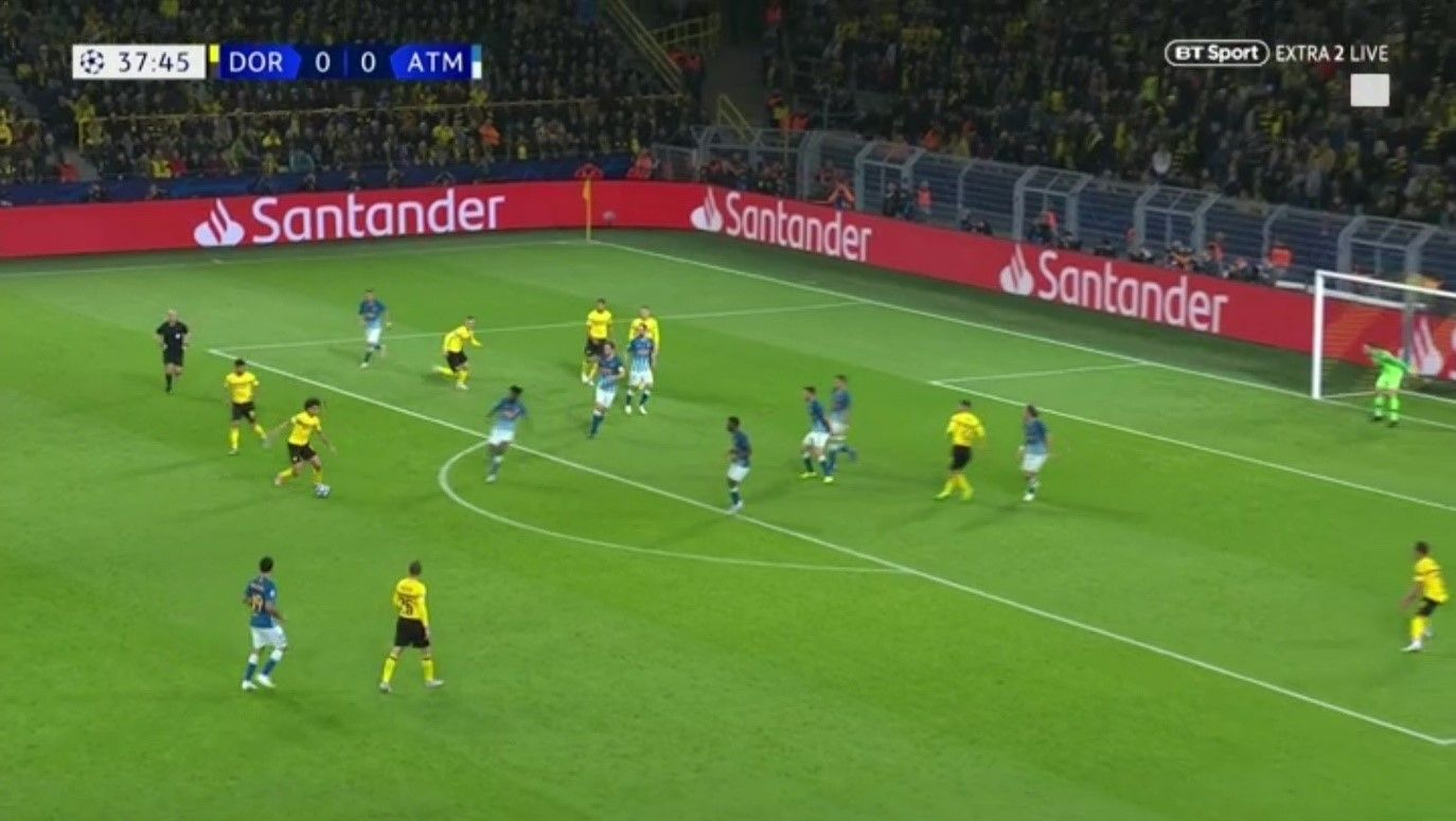 An in-depth look at Lucien Favre's tactics at Borussia Dortmund